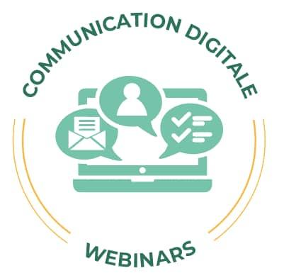 Icone Communication Digitale - Spécialité Webinar